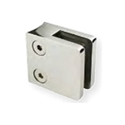 Glass D Clamp Round Post (Square)