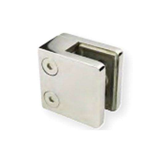 Glass to wall D Clamp Square