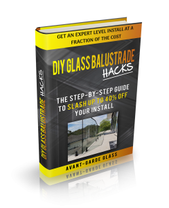 how to install a glass balustrade