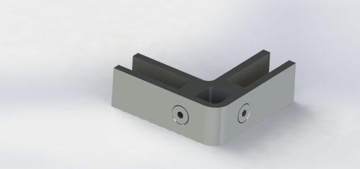 90 degree short corner clamp